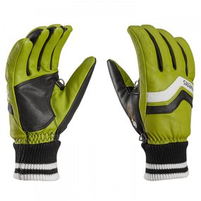 Leki Iridium S Handschuhe limette-schwarz-weiß