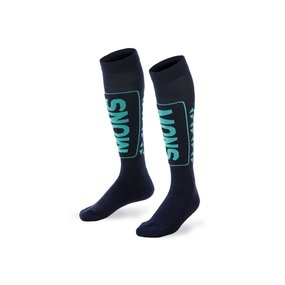 Mons Royale Snow Tech Sock Women navy/peppermint