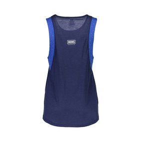 Mons Royale Womens Kasey Relaxed Tank Mesh blue dot / navy