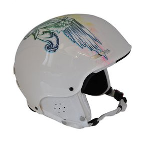 Movement Pro Tattoo Ski / Snowboard Helm white Gr. L