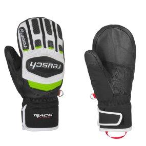 Reusch Race-Tec GS Junior Mitten Fauster black/white/neon...