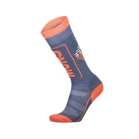 Mons Royale Womens Tech Cushion Sock coral/stone