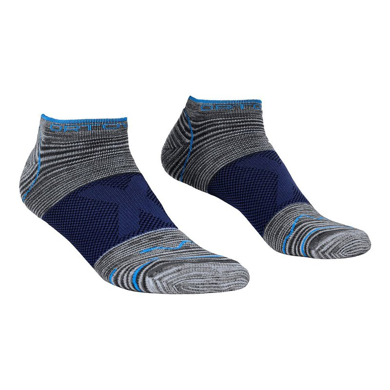 Ortovox Alpinist Low Socks Men grey blend M