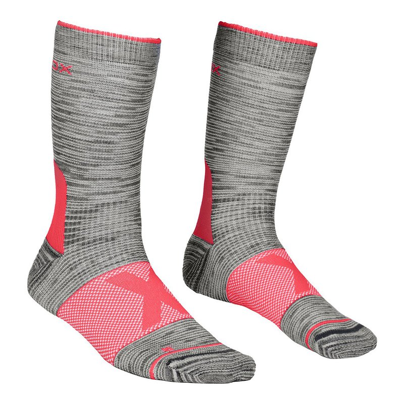 Ortovox Alpinist Mid Socks Women grey blend