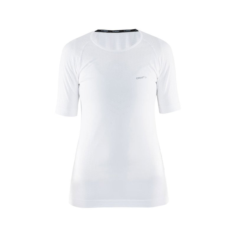 Craft Cool Intensity Roundneck SS Women white