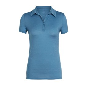 Icebreaker Tech Lite Short Sleeve Polo Women Thunder