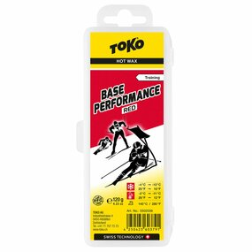 TOKO Base Performance Hot Wax red 120 g