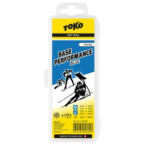 TOKO Base Performance Hot Wax blue 120 g