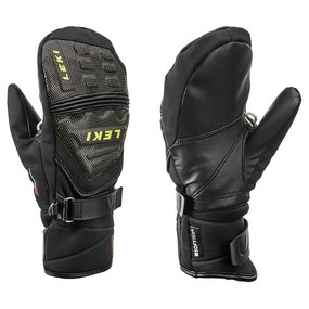 Leki Race Coach C-Tech S Junior Mitt Fauster, black-ice...