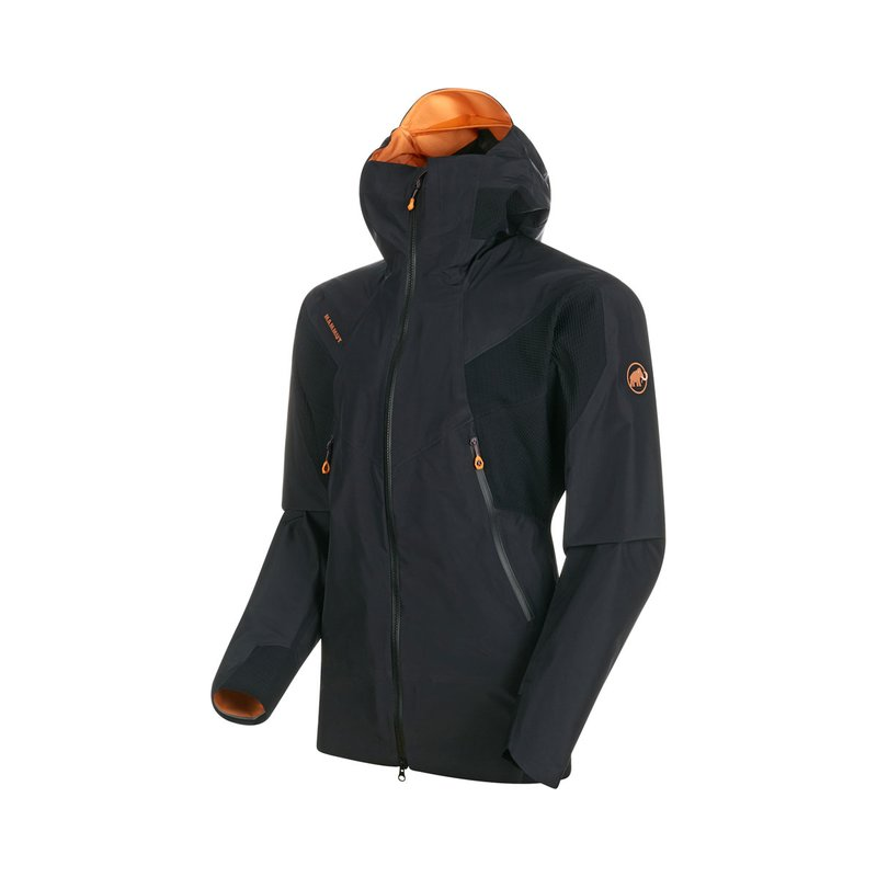 Mammut Nordwand HS Flex Hooded Jacket Men black XXL