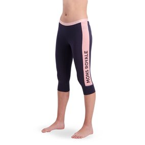 Mons Royale Womens Alagna 3/4 Legging 9 iron