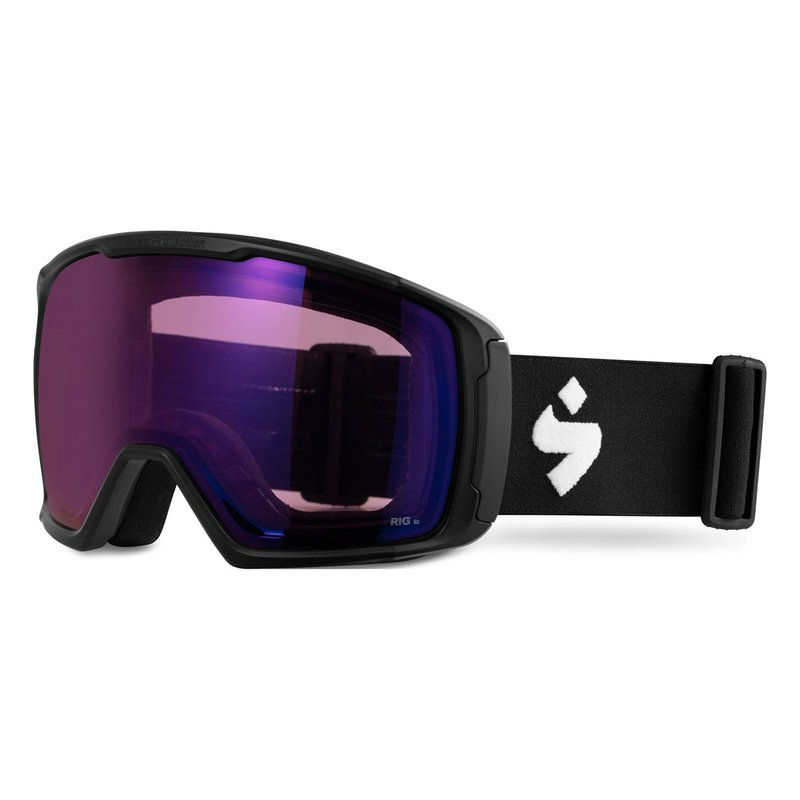 Sweet Protection Clockwork RIG Skibrille Matte Black I RIG Amethyst