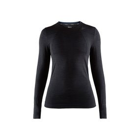 Craft Fuseknit Comfort Roundneck LS Women black