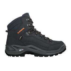 LOWA Renegade GTX MID Men, navy/orange