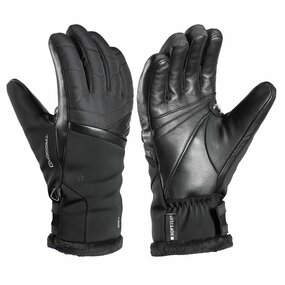 Leki Snowfox 3D Lady Handschuhe schwarz