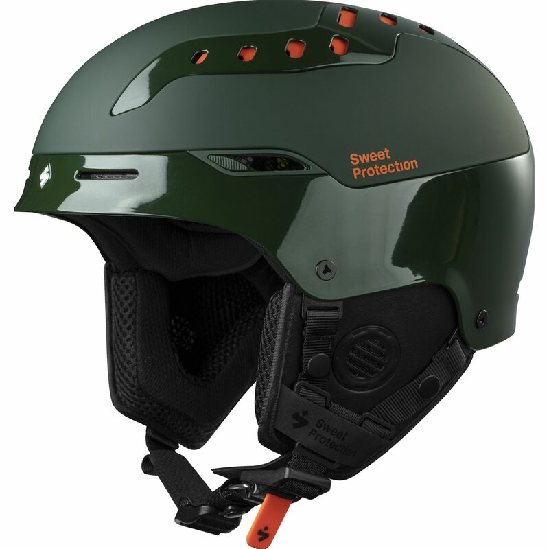 Sweet Protection Switcher Ski & Snowboard Helm Highland Green