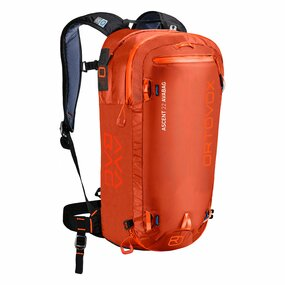 Ortovox ASCENT 22 AVABAG Airbag Rucksack desert orange