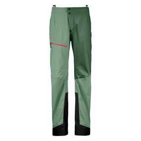 Ortovox 3L Ortler Pants Women green isar