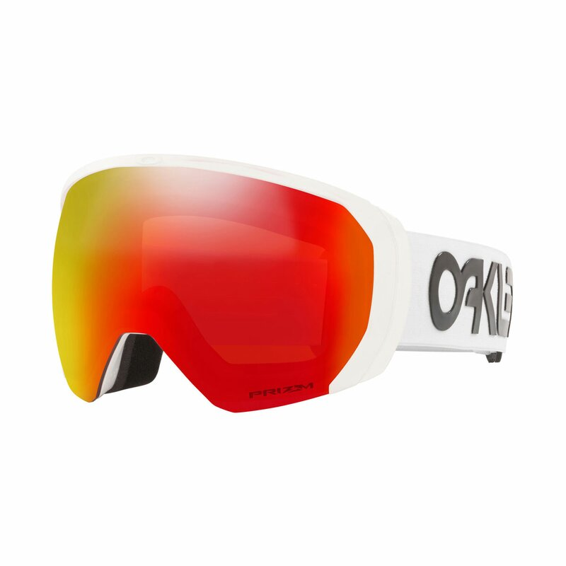 Oakley Flight Path XL Factory Pilot Matte White I Prizm Torch Iridium