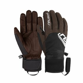 Reusch Jeremie Heitz Pro Model Handschuhe dark brown/black