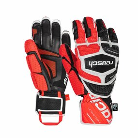 Reusch Worldcup Warrior GS Handschuhe black/white/fluo red