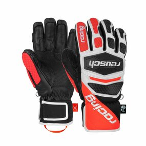 Reusch Worldcup Warrior SC Handschuhe black/white/fluo red