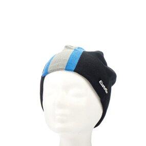 Eisbär Deik Mütze, schwarz/bugatti/platin