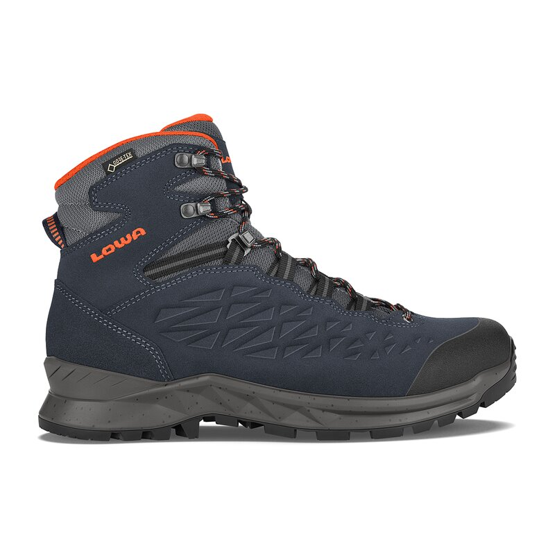 LOWA Explorer GTX Men, navy/orange