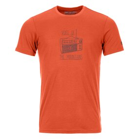 Ortovox 150 Cool Radio T-Shirt Men desert orange
