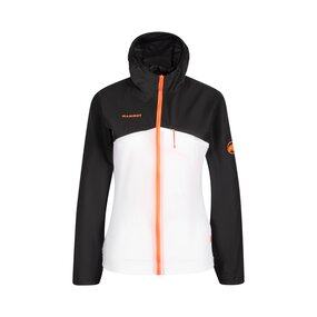 Mammut Convey Windbreaker Hooded Jacket Women black-white