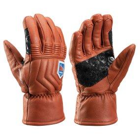 Leki Marbec 3D Handschuhe maroon