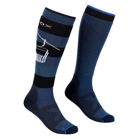 Ortovox Free Ride Long Socks Men petrol blue