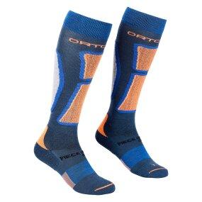 Ortovox Ski RocknWool Long Socks Men petrol blue