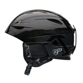 GIRO Ski & Snowboard Helm FUSE Black Poncho