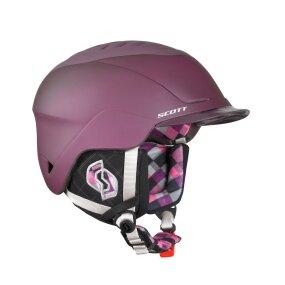 SCOTT Ski & Snowboard Helm Rove Cherry Plaid