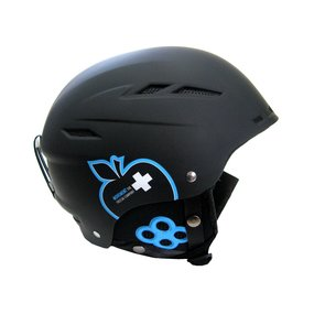 Movement Big a Ski & Snowboard Helm black/blue, M/L