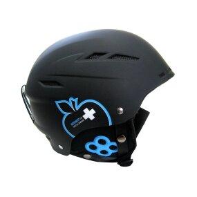Movement Big a Ski & Snowboard Helm black/blue, M/L