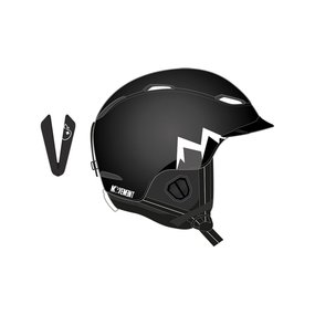 Movement MTN Ski & Snowboard Helm black, XS/S